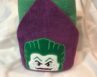 Joker Hooded Towel-Hooded Towel-Towel-Child/Teenager Hooded Towel