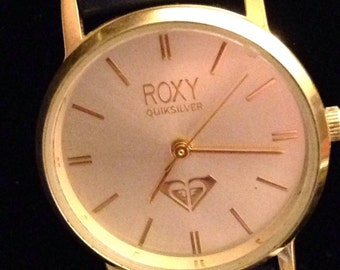 Ladies vintage Roxy by Quiksilver quartz watch. RX1950