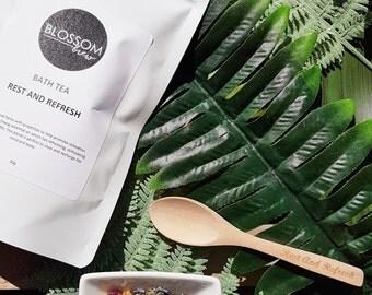 Bath Tea Rest And Refresh Herbal Natural Bath Soak