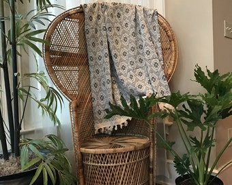 Bed Throw, Bed Runner, India Bed Throw, India Wrap, Blanket Throw