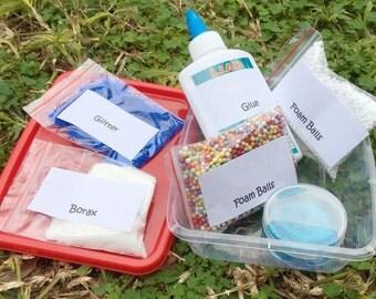 Slime Kit, DIY slime kit, Kids craft, DIY kit,Glue Kit