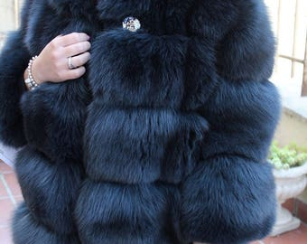 Fox Fur jacket with fox fur jacket fur coat fox fur coats silberfuchs mex