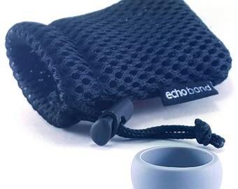 Men's Silicone Ring - Gray- Safe-Free Shipping- Lifetime Guarantee-FDA Medical Grade Silicone- Gift- Wedding- Active Wear