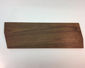Long walnut charcuterie board