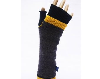 warm double cuffs Lily, warm gloves, cool cuffs, individual warmers, pure new wool leg warmers, leg warmers for men, casual gloves
