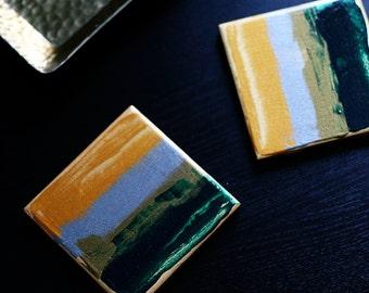 SALE - Paint Palette Coasters (Set of 2)