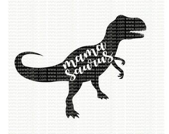 Mama Saurus SVG, cutting file, vinyl file, svg, dinosaur, svg file cameo file, cricut, dinosaur mom, dinosaur svg, download, mama saurus