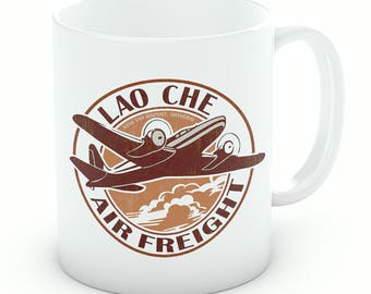 Indiana Jones, Lao Che Air Freight Mug, Indiana Jones Gift (M149)