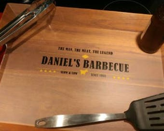 Personalized Grilling Tray