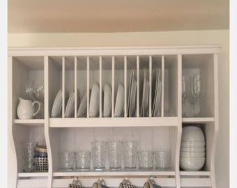 The rose plate rack