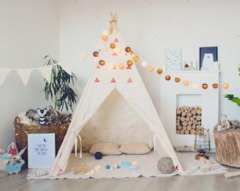 Teepee, Tent, Tipi, Play tent, Play house, Wigwam, Vig vam, Tent for kids, Kids Teepee, Kids Tent, Teepee tent, Cotton teepee, Hand printed