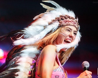 Indian headdress for IOWA Band