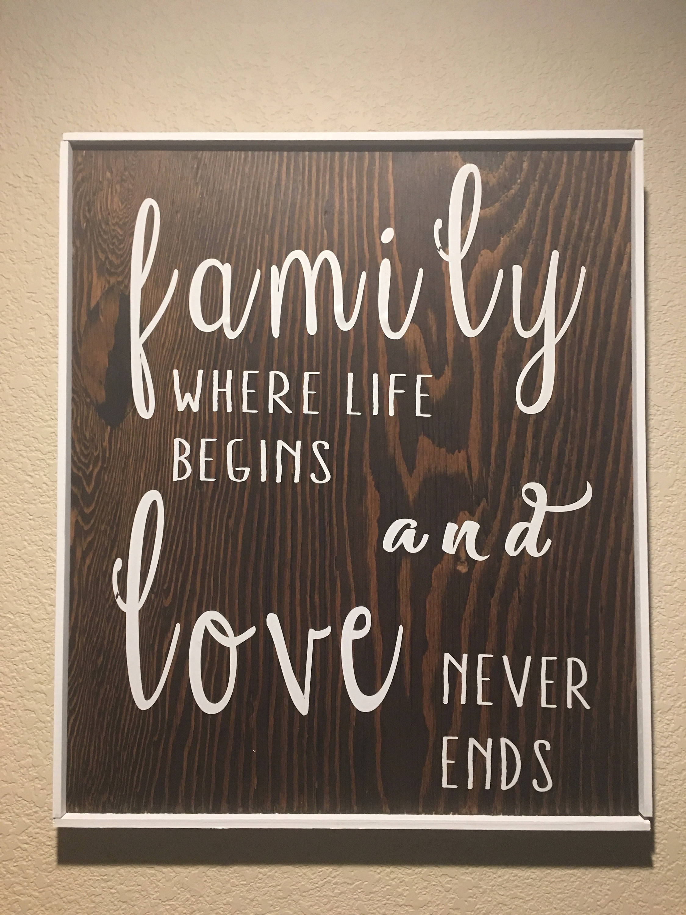 Home decor wooden sign family wall decor rustic country home decor wooden sign family wall decor rustic country amipublicfo Image collections