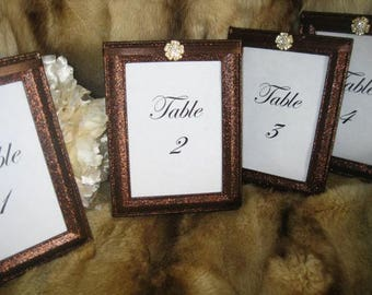 Frames, Weddings, Decorations, Table Number Frames, Table Numbers, Table Names, Fall Wedding, Wedding Frames, Fall Wedding Decor, Brown Wedd