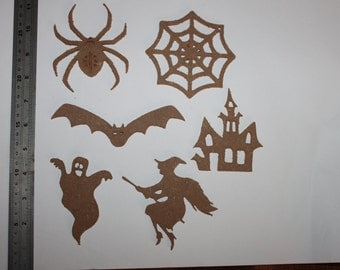 large halloween shapes in mdf.