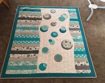 Bubble Up Baby Quilt Pattern