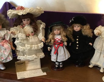 Beautiful dolls need a home