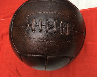 Dark Rosewood Genuine Leather Football