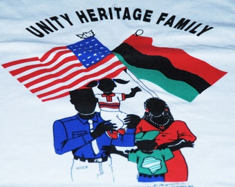 Vintage Unity, Heritage and Family T-Shirt