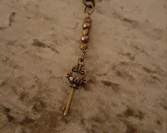 Key charm key ring