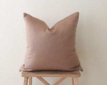 Camel | Cashmere Pillow