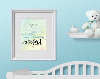 Nursery Decor Printable, Nursery Wall Art, Gender Neutral, Nursery Gender Neutral Decor, Printable, Perfect Printable, Baby Printable,