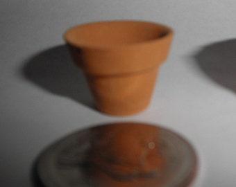 Dollhouse miniature Clay pots