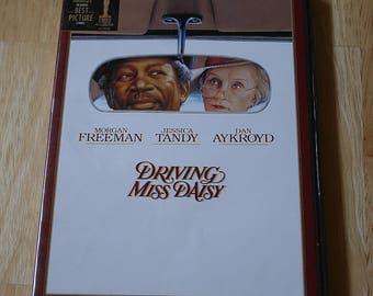 Driving Miss Daisy--Morgan Freeman, Jessica Tancy, Dan Aykroyd--1989--DVD--Shipping Included