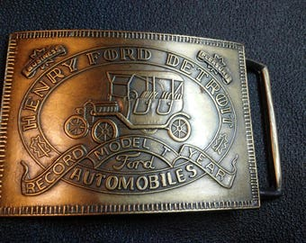 Ford Model T Belt Buckle