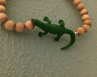 Tough crocodiles bracelet for the heroes among us