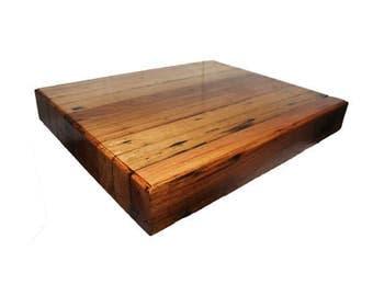 MESSMATE CHOPPING BLOCK Aussie Made Cutting/Chopping Boards & Chopping Blocks made in Australia using 100% Australian Reclaimed Timber
