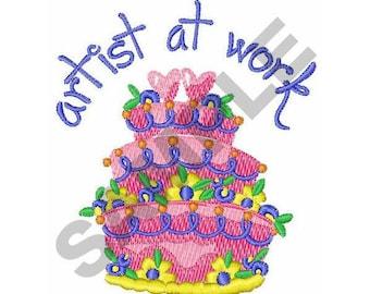Cake - Machine Embroidery Design
