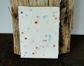 """Dual card """"confetti&..."""