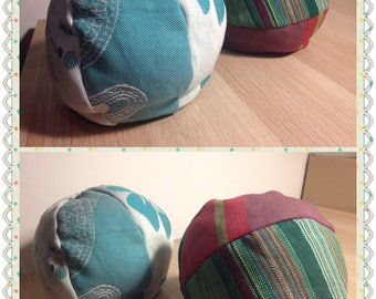 Cloth Rattle balls in