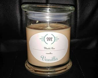 12oz Vanilla Soy Wax Container Candle