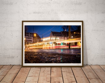 Leipzig, Connewitz, Photo, Photoprint, Art, Printart - Poster, Acrylic, PVC foamboard, canvas print