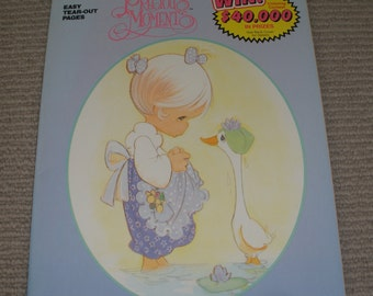 Precious Moments - A Golden Book - Colouring Book