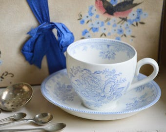 Pretty Burleigh Cup and Saucer