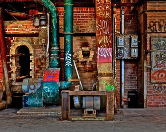 Pipes and Grafitti