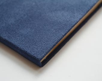 Dark blue soft book