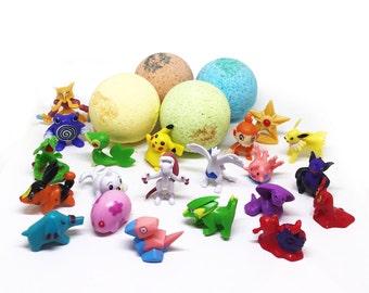 Pokemon Bath Bomb TOY! 3 oz BOMB Surprise!