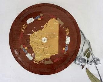 Excellent kitsch Western Australia serving tray