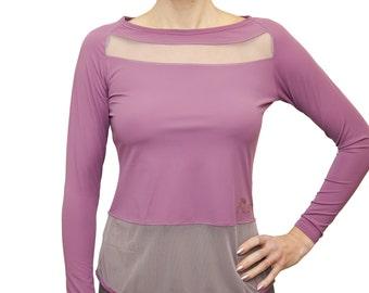 Long sleeves lycra top ASIA