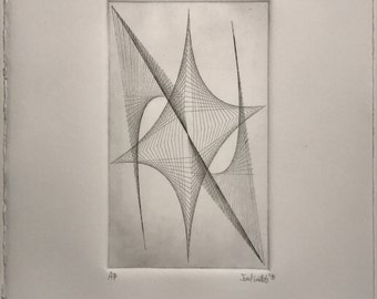 Untitled 2015 by Joel Webb (Intaglio etching)