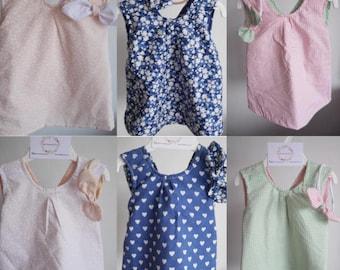Custom handmade reversible dress