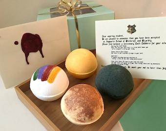 Harry Potter Bath Bomb Gift Set, Bath Gift Set, Harry Potter Gift, Harry Potter Bath Bomb, Bath Bomb, Bath Bomb Gift Set