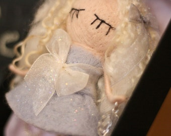 Fairy Gelsey - Needle Felted home decoration and gift with little magic