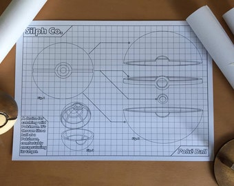Poké Ball Blueprint