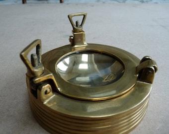 Ships porthole ashtray