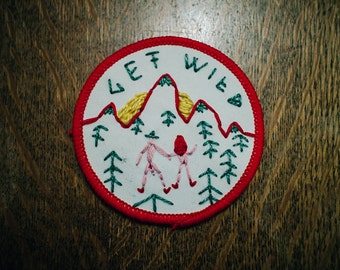 Get Wild Nudie Patch